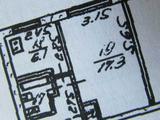 1-комнатная квартира, 31 кв.м., 1/2 эт.